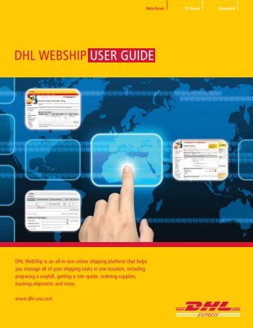 welcome to dhl emailship user guide rh yumpu com Doi Welcome Guide BVI Welcome Guide