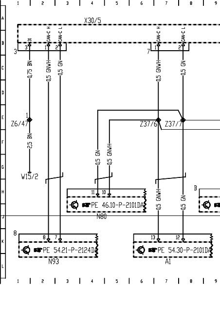 W211 Wiring Diagram Engine Can Bus Pdf
