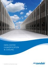 Data Centre Humidification & Cooling - JS Humidifiers Plc