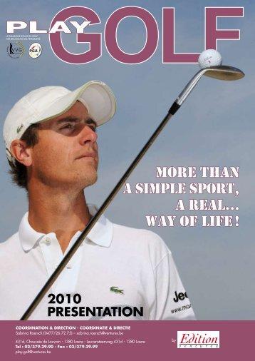 2010 - Play Golf