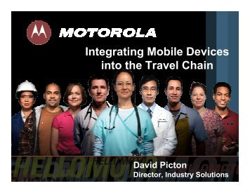 Integrating Mobile Devices into the Travel Chain - Data Interchange ...