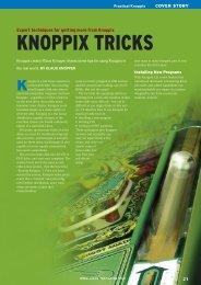 KNOPPIX TRICKS - Linux Magazine