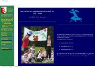 Die Deutsche Jungendmeisterschaft im THS - 2005