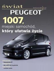 świat - Peugeot
