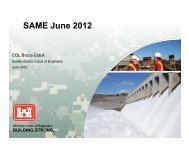 USACE Seattle District - ACEC of Washington