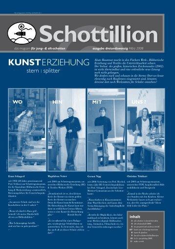 Schottillion Ausgabe Nr. 23 - Alt-Schotten