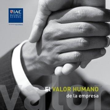 El Valor Humano de la Empresa La grandeza de una organización ...