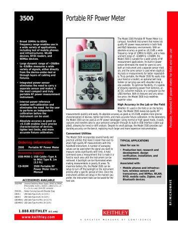 Portable RF Power Meter