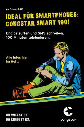 IDEaL füR SmaRTphonES: conGSTaR SmaRT 100!
