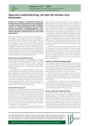 Sparsam traktorkörning ett sätt att minska sina kostnader (.pdf)