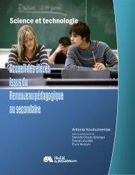 Science et technologie - Accueil Service de développement ...