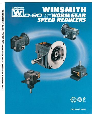 wormgear speed reducers