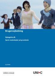 Oprettelse af medarbejder på en skole - Optagelse.dk