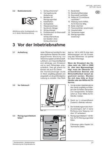 Download Bedienungsanleitung B - Wap Nilfisk Alto Shop