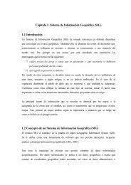 Capítulo 1. Sistema de Información Geográfica (SIG) 1.1 ...