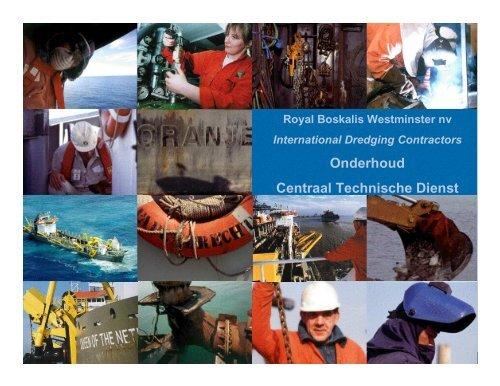 Onderhoud Centraal Technische Dienst - Central Dredging ...