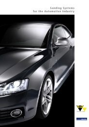 Sanding Systems for the Automotive Industry