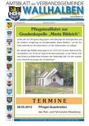 T E R M I N E - Verbandsgemeinde Wallhalben