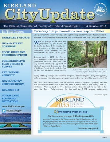 1 - City of Kirkland