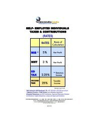 Payroll Taxes and Contribution Rate - Tax Administration Jamaica