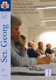 Sct Georg 1/2004 - Sct. Georgs Gilderne i Danmark