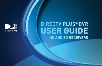 table of contents - DirecTV
