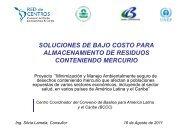 Presentación – Soluciones de bajo costo . Silvia Lamela - Centro ...