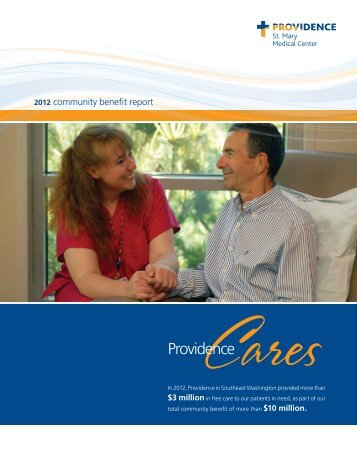 Download our 2012 Community Benefit Report - Providence ...