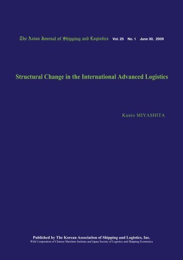 Structural Change in the International Advanced Logistics - Ajsl.info