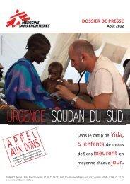 Appel aux dons - Médecins Sans Frontières
