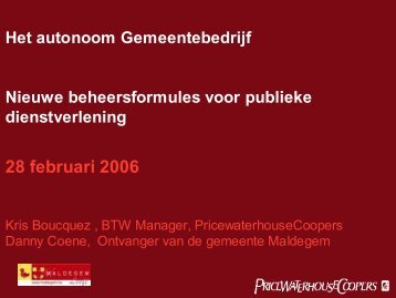 Bekijk de presentatie - Meetjesland.be