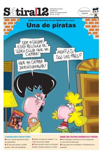 Una de piratas - Página/12