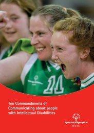 The Ten Commandments - Special Olympics