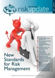 Download the New Standards for Risk Management (Part 1)
