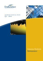 Reinsurance (A4) - Endurance Specialty Insurance Ltd.