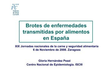 Brotes Alimentarios en España - avesa