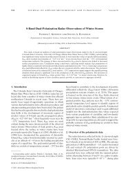 S-Band Dual-Polarization Radar Observations of Winter Storms