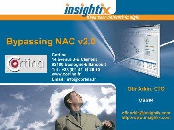 Bypassing NAC v2.0 - OSSIR