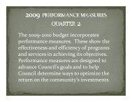 Presentation Performance Measures