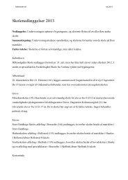 Liste over skolenedlæggelser 2013 - Folkeskolen
