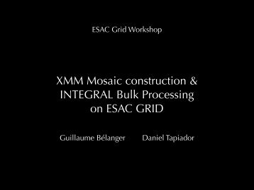 Link to presentation in PDF - ESA