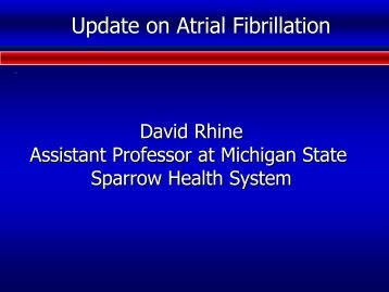 Rhine-Atrial fibrill..