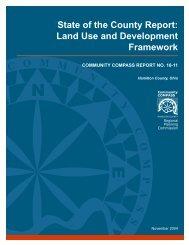 Land Use and Development Framework - Hamilton County, Ohio