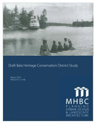 {7F89ED99-CD92-4ADB-B808-0286C6CBDC36}Bala Heritage Conservation District Study