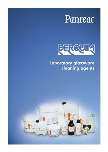 Laboratory glassware cleaning agents