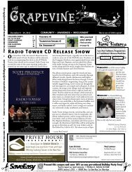 Radio Tower CD Release Show - The Grapevine