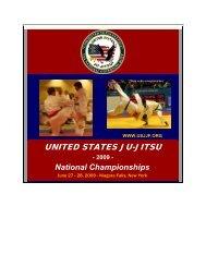 USJJ 2008 National Championship - United States Ju-Jitsu Federation