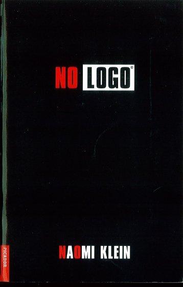 Naomi Klein No Logo - Tendencias de Moda