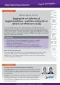 praktisk bygglogistik - Conductive - Page 5