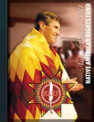 NARF Annual Report 2011 - the Native Ways Federation